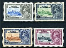 STRIATS SETTLEMENTS 1935 KING GEORGE V SILVER JUBILEE STAMP ISSUE