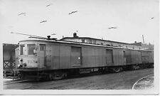 6K500H RP 1940s/50s? INDIANA RAILROAD CAR #715 FT WAYNE FREIGHT HOUSE
