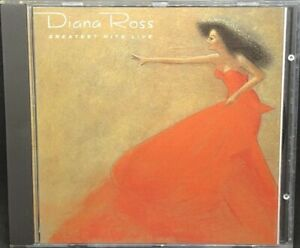DIANA ROSS - GREATEST HITS LIVE (LIVE RECORDING), CD ALBUM, (1989).