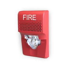 New Kidde Eg1avrf Compact Wall Hornstrobe 15 75cd Red Fire Marking