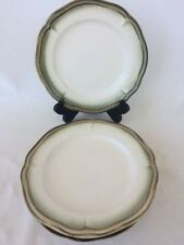 """Set of 4 Better Homes & Gardens SIMPLY FLUTED DILLWEED 9"""" Salad Plates"""