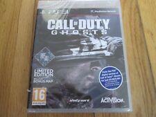Call of Duty-Ghosts (chute libre Bonus Carte dont PS3 NEUF et scellé PAL