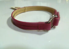 Fossil Women's Bracelet Jf00695040 Leather With Stainless Steel Fasten in Pink