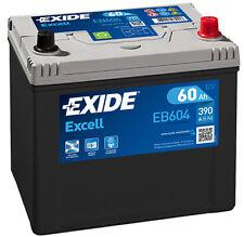 EXIDE Autobatterie Batterie 60Ah - EXCELL EB604 zzgl. 7,50€ Batteriepfand