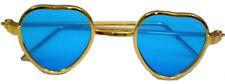 Heart Frame Sunglasses withk Blue Lenses Fits 18 inch American Girl Dolls