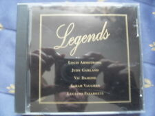 Legends CD, Hits from Louis Armstrong, Nat King Cole, Vic Damone, Sinatra +++