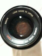 Canon Fd 55mm 1:1,2 S.S.C