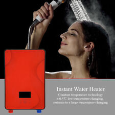 6500W 220V Instant Electric Tankless Hot Water Heater Portable Outdoor Bathroom