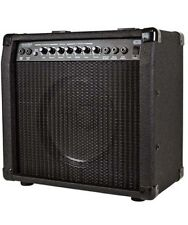 40W Guitar Electric Combo Amplifier Amp w/ Spring Reverb Black Pro Audio