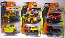 Matchbox Diecast Construction Farm Vehicles Lot Dozer Dump Truck Excavator
