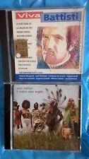 """2 CD - RARO """"Viva Battisti"""" + Il nostro caro angelo LUCIO BATTISTI"""