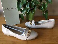 Carvela Kurt Geiger Melissa Nude Patent Flat Shoes UK 6 EU 39