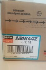 ABW44Z ZMax Adjustable Post Base 10 in the box