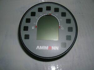 Ammann ARX12 - ARX45 Tandem Roller  digital  display unit