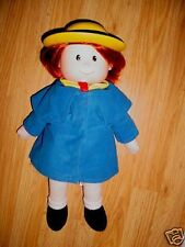 "18""-1998-Hallmark Madeline Talking Talks Sings Doll"