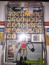 Sneak Peak 1987 G.I.Joe NR. Complete Lot W/Case, Full File Card, & Accessories