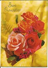 1 card Italian Name's Day - Greeting card - 5044 A-2 Onomastico