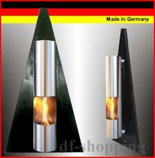 Gel- et Ethanol-Cheminée Pyramide Noir / Fabriqué en Allemagne / fireplace kamin