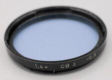 Hasselblad B50 B57 1.4x CB 3 CB3 -0.5 Blue Filter 500c 501c 503cw Cameras