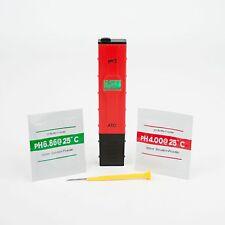 pH / °C Tester pH-Meßgerät Temeraturmessser für Süß- und Meerwasser