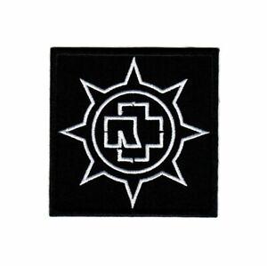 Rammstein Wheel Patch Hard Rock Heavy Metal Band