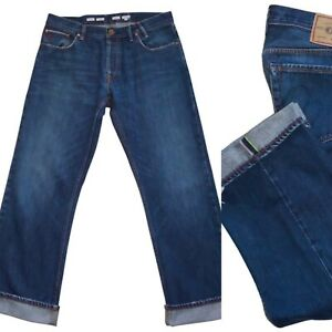 Paul Smith Red Ear Rainbow Selvedge Cockle Pippin Jeans Size 36x32