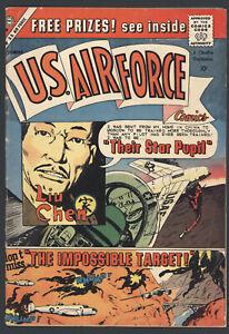U.S. Air Force Comics #7 Very Good / Fine Charlton Comics Hard To Find! 1959 SA