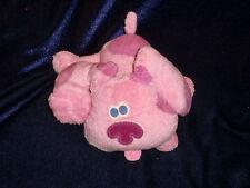 2002 Blue's Blues clues mini magenta Fisher price mattel plush stuffed Hot pink