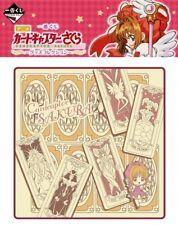 Banpresto Ichiban CardCaptor Sakura Goods Prize C Wash Hand Towel Clow Cards