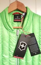Victorinox Swiss Army Goose Down Puffer Vest Jacket Mens Large NEW $250.00 Green