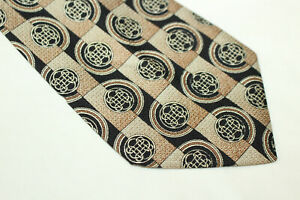 COVERI Silk tie Made in Italy F14214