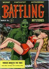 BAFFLING MYSTERIES FULL RUN ON DVD PRE-CODE GOLDEN AGE HORROR COMICS ACE COMICS