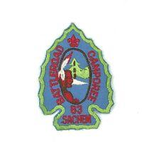 1983 Battleroad District Camporee Camp Sachem Camporee Minuteman Council Patch