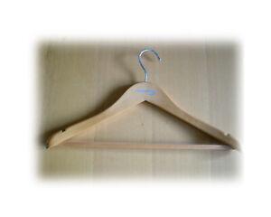 British Airways Coat Hangers Premium Beech wood Hanger Brand New, Set of 6 pcs