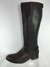 Frye Womens Dark Brown Leather Mnee Boots 9 B