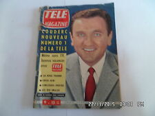 TELE MAGAZINE N°298 09/07/1961 ROGER COUDERC     I69