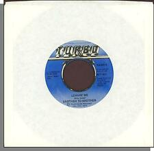 """Brother to Brother - Leavin' Me + Phattenin' - 7"""" 45 RPM Funk Single!"""