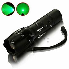 LingsFire Zoomable Scalable LED Flashlight T6 18650 Or AAA Battery