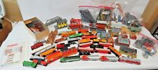 1970's Tyco Ho Scale Train Collection ~ 207 Pieces to Build Railroad Empire