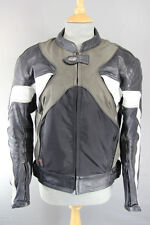RST COWHIDE LEATHER & TEXTILE BIKER JACKET WITH REMOVABLE CE ARMOUR 40 INCH