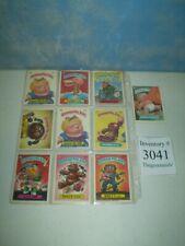 Lot of 10 Original 1986 Garbage Pail Kids Trading Cards Teddy Bear Brett Vet +