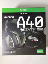 Astro Gaming A40 Gaming TR Headset + MixAmp M80 Black Olive Xbox One Open Box