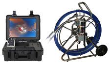 60m Schwenkkopfkamera,Kanalkamera, 10mm Glasfaserröhrenaal,15´LCD,Meterzähler