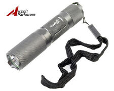 TrustFire Q3 LED 5 Mode 160 Lumens AA/14500 Mini Pocket Flashlight Grey