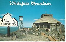 Whiteface Mt. Ny Summit House Museum Of The Atmosphere Postcard 1950s