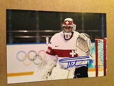 Florence Schelling SIGNED 4x6 photo WOMEN'S HOCKEY / TEAM SWITZERLAND #5