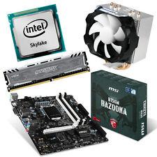 PC Bundle AufrüstKit Intel I3-6100 Skylake 2x 3,7GHz MSI Bazooka B150M 16GB-DDR4