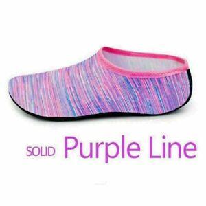 UK Water Shoes Mens Womens Quick Dry Aqua Socks Beach Swim Non Slip Wetsuit Size