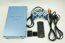 Sony Playstation 2 Aqua Blue Limited Edition Console PS2 Japan USED