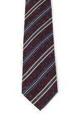 Luigi BORRELLI Napoli 7 Fold Silk Blend Tie ~ Handmade in Italy